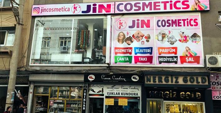 Nusaybin Jin Cosmetics Mağazası açıldı