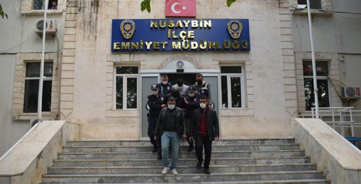 Nusaybin Polisi motosiklet hırsızlık şebekesini çökertti