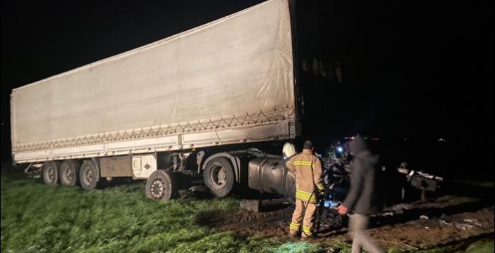 Nusaybin uluslararası İpek yolunda trafik kazası, 1 yaralı