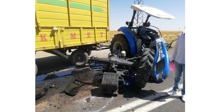 Nusaybin ve İdil ilçelerinde trafik kazası, 4 yaralı