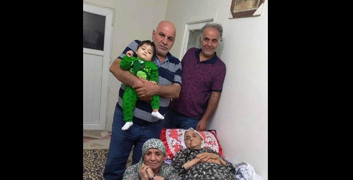 Sezişli ve Gelmedi ailesinin acı günü
