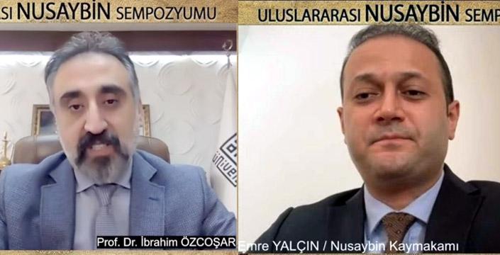 Uluslararası Nusaybin Sempozyumu açılış konuşmaları ile başladı
