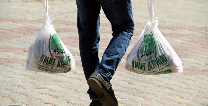 400 aileye kurban eti dağıtıldı