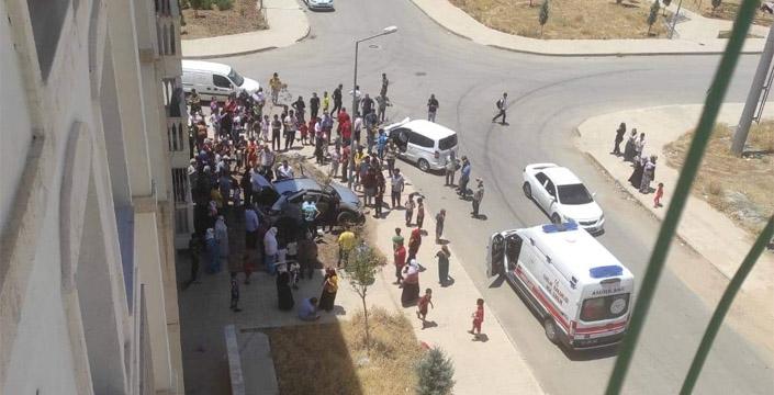 Yenişehir Mahallesinde kaza, 3 yaralı